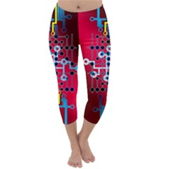 Board Circuits Trace Control Center Capri Winter Leggings