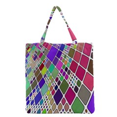 Color Table Grocery Tote Bag