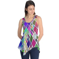 Color Table Sleeveless Tunic