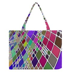 Color Table Medium Zipper Tote Bag