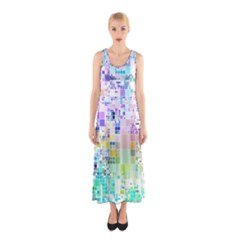 Creativity  Sleeveless Maxi Dress