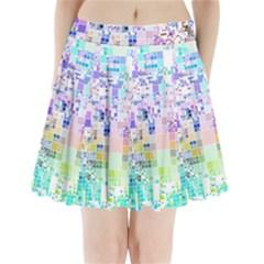Creativity  Pleated Mini Skirt