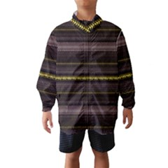 Fabric Pattern Color Structure Wind Breaker (Kids)
