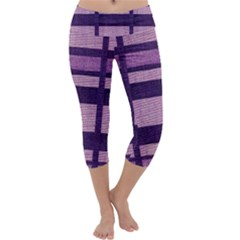 Fabric Texture Textile Surface  Capri Yoga Leggings