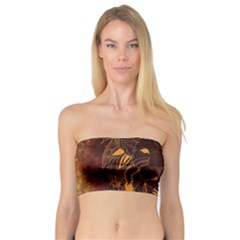 Lion Wild Animal Abstract Bandeau Top