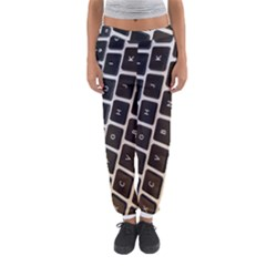 Macbook Keyboard Laptop Computer Women s Jogger Sweatpants