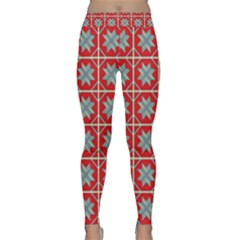 Pattern Backdrop Fabric Background Yoga Leggings