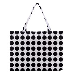 Pattern Dots Grid Circle Creative Medium Tote Bag