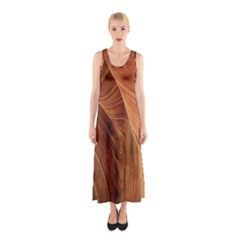 Sandstone The Wave Rock Nature Sleeveless Maxi Dress
