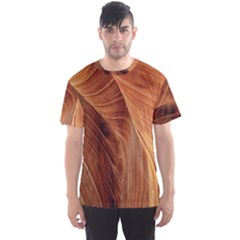 Sandstone The Wave Rock Nature Men s Sport Mesh Tee