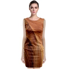 Sandstone The Wave Rock Nature Classic Sleeveless Midi Dress