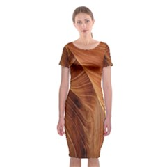 Sandstone The Wave Rock Nature Classic Short Sleeve Midi Dress