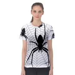 Spider Web Spider Web Insect Women s Sport Mesh Tee
