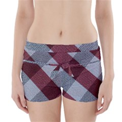Textile Geometric Pattern Boyleg Bikini Wrap Bottoms