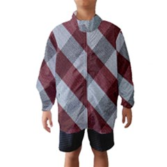 Textile Geometric Pattern Wind Breaker (Kids)