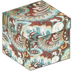 Texture Fabric Pattern Knitted Wear Storage Stool 12