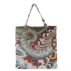 Texture Fabric Pattern Knitted Wear Grocery Tote Bag