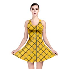 The Fence  Reversible Skater Dress