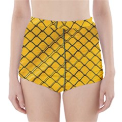 The Fence  High-Waisted Bikini Bottoms