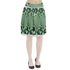 Wave Pattern Pleated Skirt