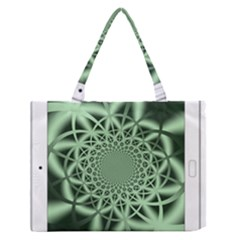 Wave Pattern Medium Zipper Tote Bag