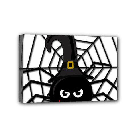 Halloween cute spider Mini Canvas 6  x 4