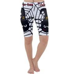 Halloween cute spider Cropped Leggings
