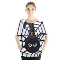 Halloween cute spider Blouse