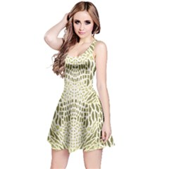 ALBINO REPTILE Reversible Sleeveless Dress