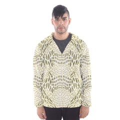 ALBINO REPTILE Hooded Wind Breaker (Men)
