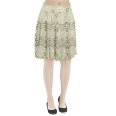 Albino Reptile Pleated Skirt