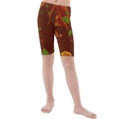 Autumn 01 Kids  Mid Length Swim Shorts