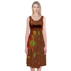 Autumn 01 Midi Sleeveless Dress
