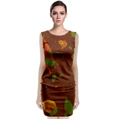Autumn 01 Classic Sleeveless Midi Dress