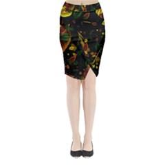 Autumn 03 Midi Wrap Pencil Skirt