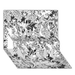 Amazing Fractal 31 A Miss You 3D Greeting Card (7x5)