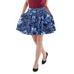 Amazing Fractal 31 D A Line Pocket Skirt