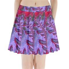 Freaky Friday Red  Lilac Pleated Mini Skirt