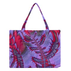 Freaky Friday Red  Lilac Medium Tote Bag