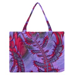 Freaky Friday Red  Lilac Medium Zipper Tote Bag