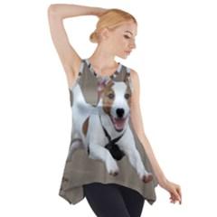Jack Russell Terrier Running 2 Side Drop Tank Tunic