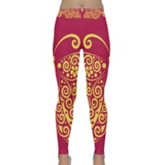 Butterfly Insect Bug Decoration Yoga Leggings