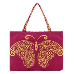 Butterfly Insect Bug Decoration Medium Tote Bag
