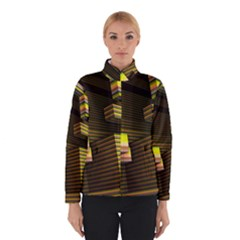 Cubic Blocks Abstract Cube Winterwear