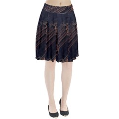 Fractals Abstraction Tla Designs  Pleated Skirt