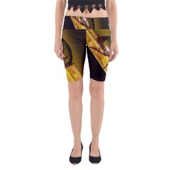 Insect  Yoga Cropped Leggings