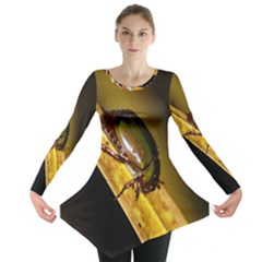 Insect  Long Sleeve Tunic