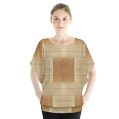 Texture wood Blouse
