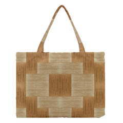 Texture wood Medium Tote Bag