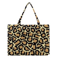 Pink Leopard Medium Tote Bag